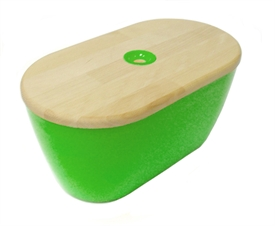 Woody bread bin and board