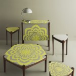 Heal's Discovers Geometry furniture by Burgundy Applegate