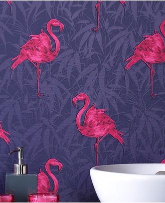 Graham and Brown flamingo wallpaper