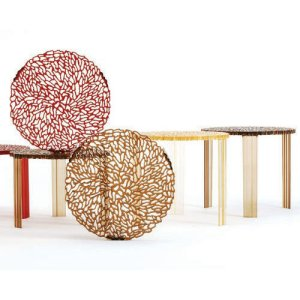 Contemporary designer nest of tables side table
