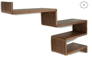 Modular shelving set