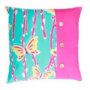 Handmade vibrant cushion