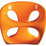 Kundalini Hara orange armchair