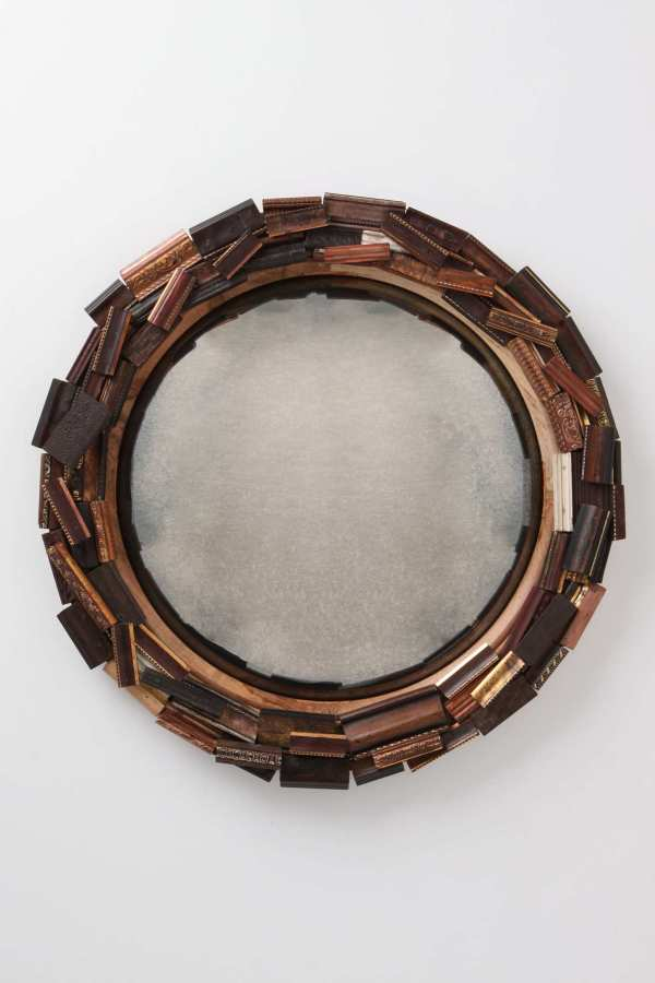 Fresh finds: Anthropologie frame remnants mirror