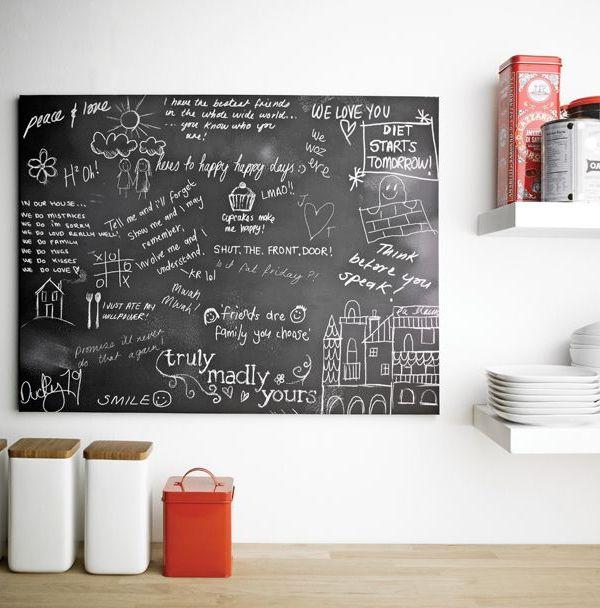 Arthouse chalkboard graffiti wall art
