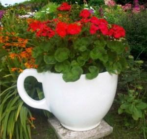 Contemporary designer garden planter