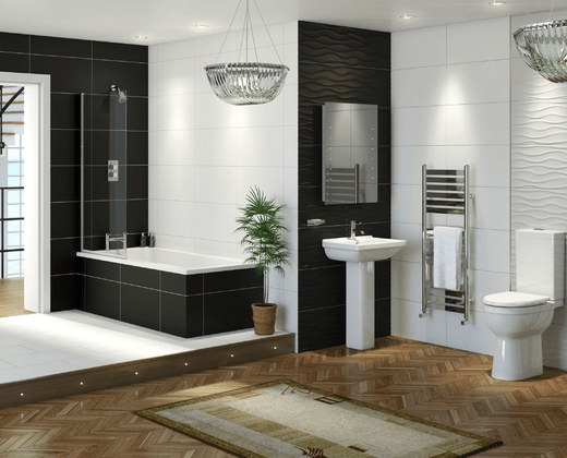 Balancing style with practicality how to plan your family for Bathroom design kingston