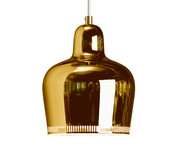 Limited edition gold Bourgie Kartell lamp