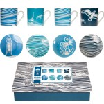 Mini Moderns Whitby nautical espresso cup set
