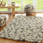 Brighton Beach contemporary felted wool rug