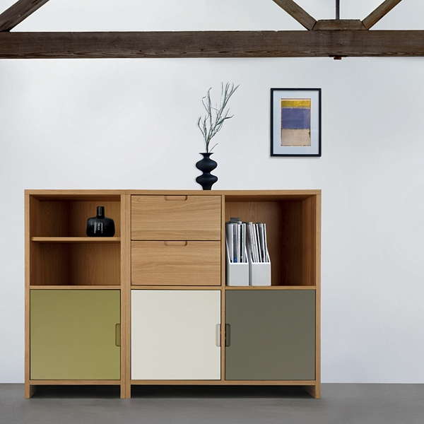 Penguin Donkey bookcase for a modern home