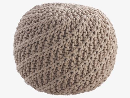 knitted pouf archives fresh design blog. Black Bedroom Furniture Sets. Home Design Ideas
