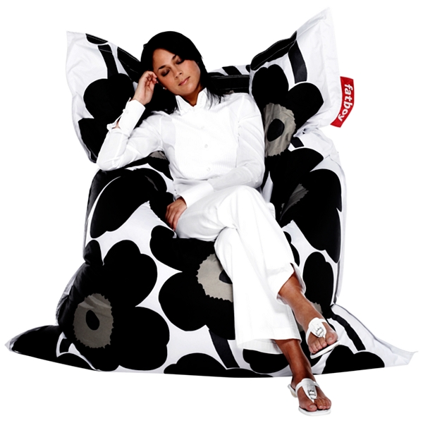 Designer Marimekko Fat Boy bean bag  sc 1 st  Fresh Design Blog & fat-boy-bean-bag-chair-demo ~ Fresh Design Blog