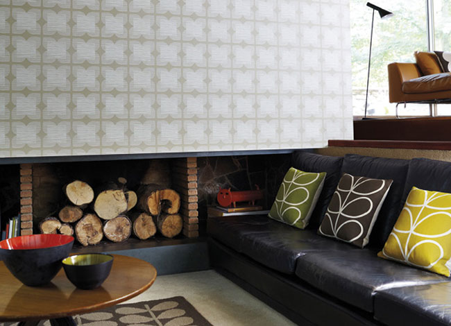 New Orla Kiely Wallpaper For Harlequin Fresh Design Blog