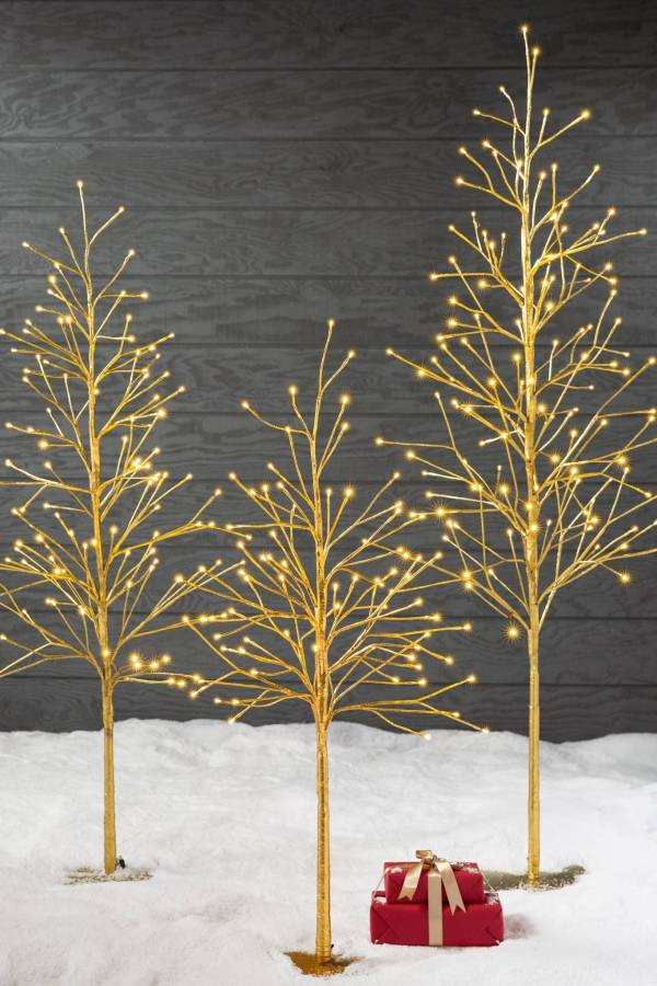 Contemporary Twig Christmas Tree Ideas