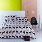 Anorak kissing stags duvet cover