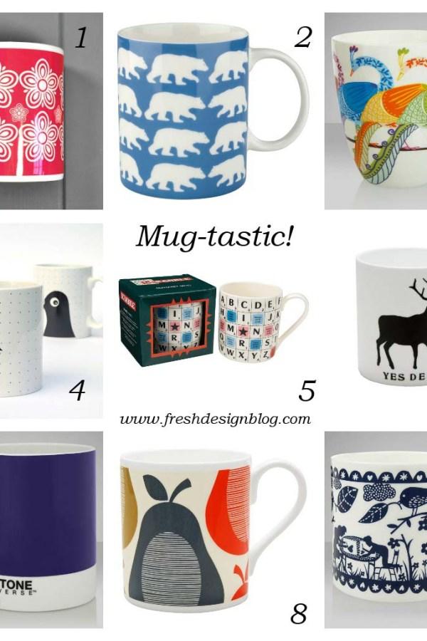 Mug-tastic: Great design mugs for £10 and under