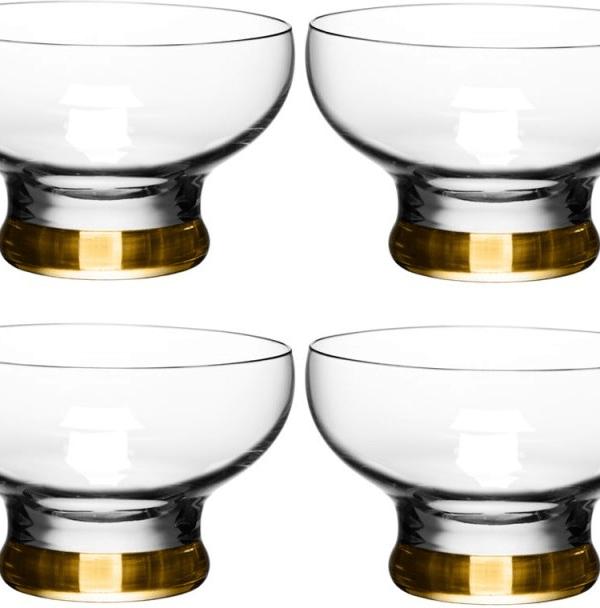 Bargain buy: LSA Coro gold dessert bowls