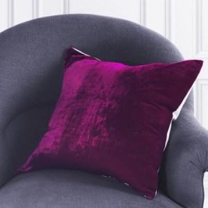 Velvet cushions from Graham and Green