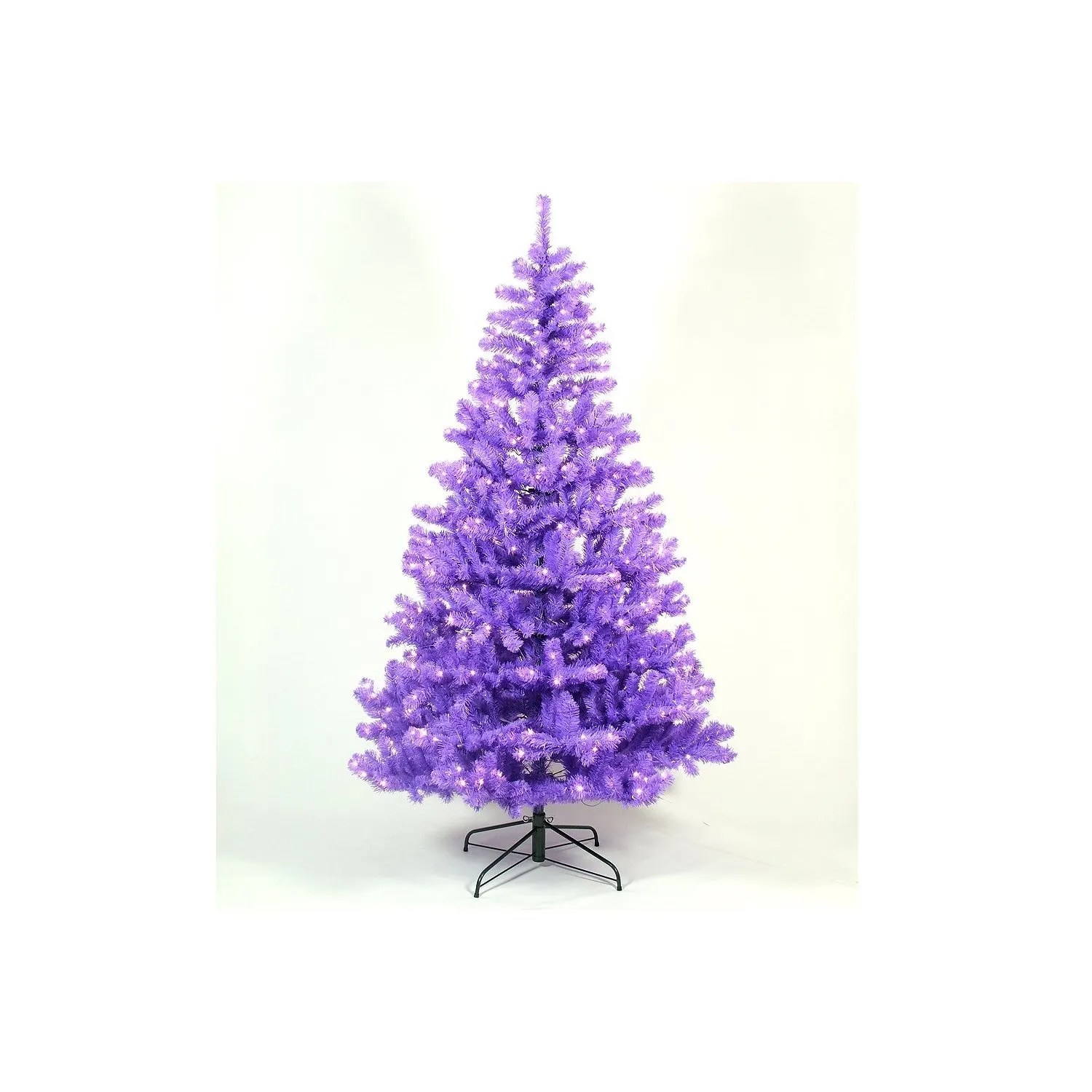 Christmas Tree Light Pictures: Best Contemporary Purple Christmas Trees
