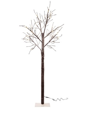 Contemporary twig Christmas tree designs