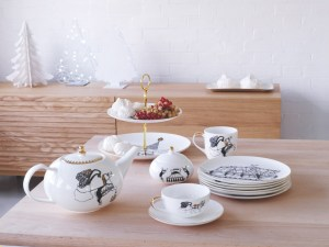 Fresh design designer circus china ceramics