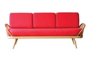 Three seat Ercol studio sofa