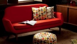 Mid century modern furniture sofa design
