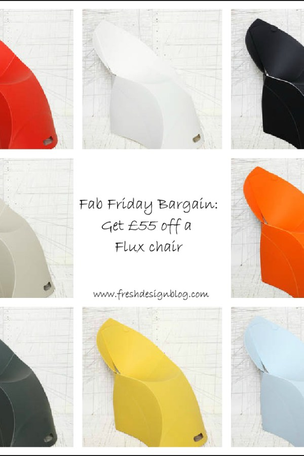 Fab Friday Bargain: Save money on designer Flux chairs