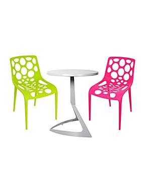 Contemporary garden outdoor bistro furniture