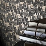 Sophie Conran for Arthouse London Lights wallpaper