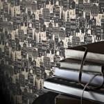 Sophie Conran for Arthouse London Lights wallpaper