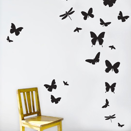 Stunning Contemporary home decor ideas using wall stickers