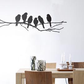 Vintage Contemporary wall sticker home decor ideas