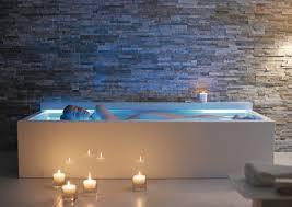 Luxury bathing: Duravit Nahho floatation bath tub