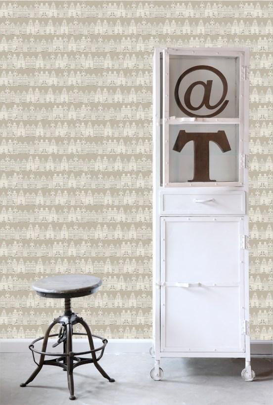 Contemporary dutch wallpaper design