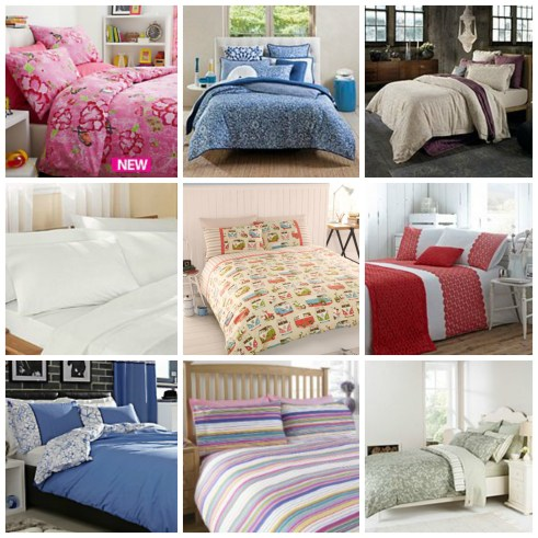 Invest in new bargain priced bedding and duvets