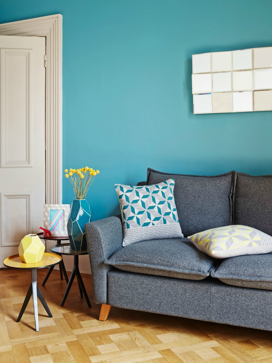 Teal Accessories For Living Room Contemporary Graphical And Geometric Home Interiors Fresh Design