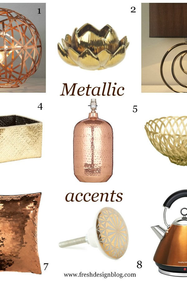 Most Wanted High Street Hunter: Metallic accents autumn trend