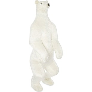 Polar bear Christmas home decor