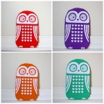Winter warmers: Owl design hot water bottle covers
