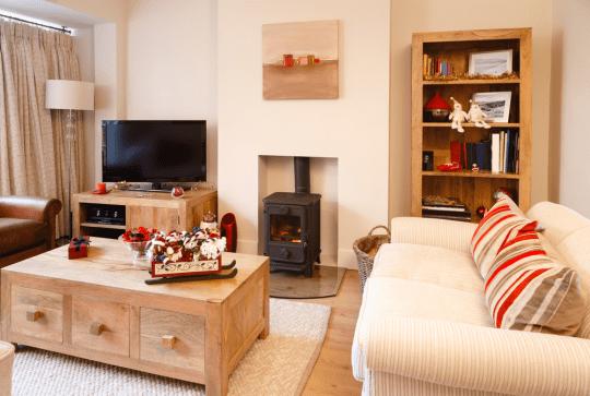 Cosy home living room decor