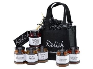 Chutney and jam hamper gift bag