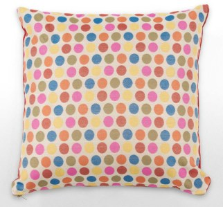 Luxury contemporary spot dot cushion