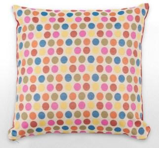 Luxury contemporary spot dot cushion