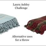 Laura Ashley throw challenge