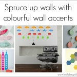 How to add colour to a wall using wall accents