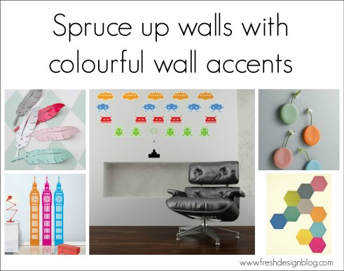 How to use wall accents in your interior design decor