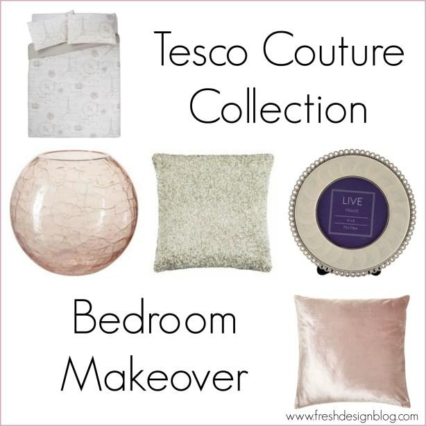 Tesco couture trend bedroom range