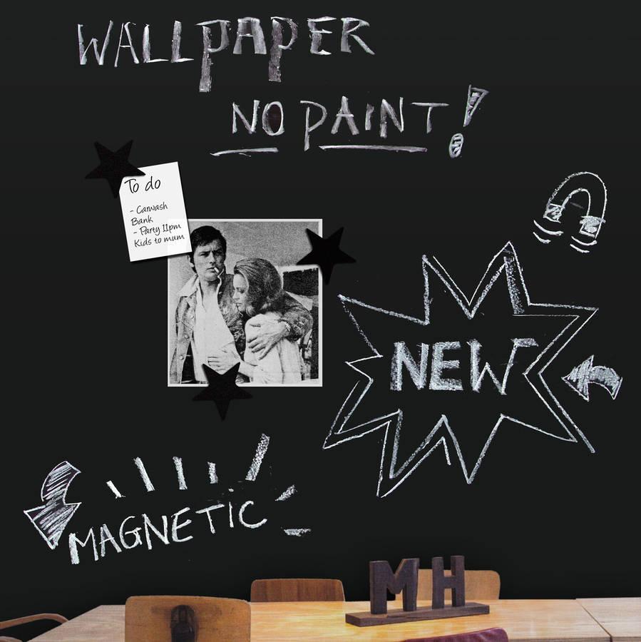 Fresh Design Ideas Magnetic Blackboard Wallpaper Fresh Design Blog